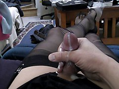 Black, Stockings, Hot sexy lesbian sex full