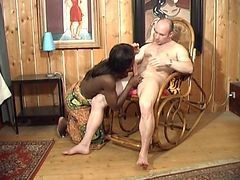 Black, French, Interracial, French girl dirty talk